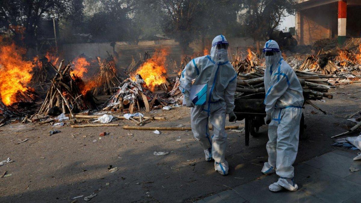 Hindistan da koronavirüsten ölenlerin küllerinden park yapılacak #2