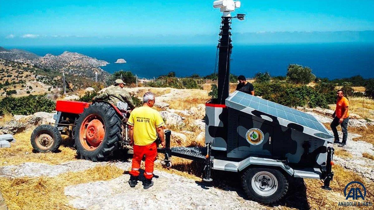 Türkiye, KKTC ye orman yangınlarına karşı yardım gönderdi #1