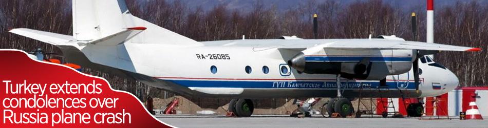Türkiye, ölümcül uçak kazası nedeniyle Rusya'ya başsağlığı diledi