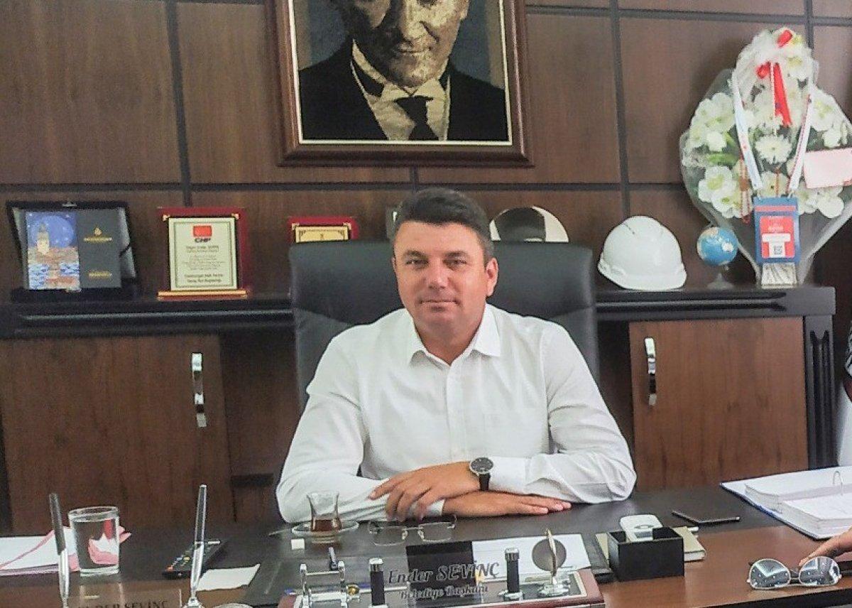 CHP de bir taciz skandalı da Kırklareli nden #1