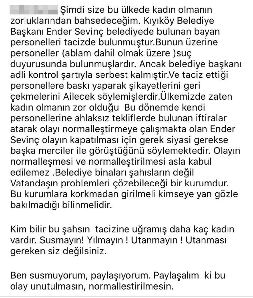 CHP de bir taciz skandalı da Kırklareli nden #3