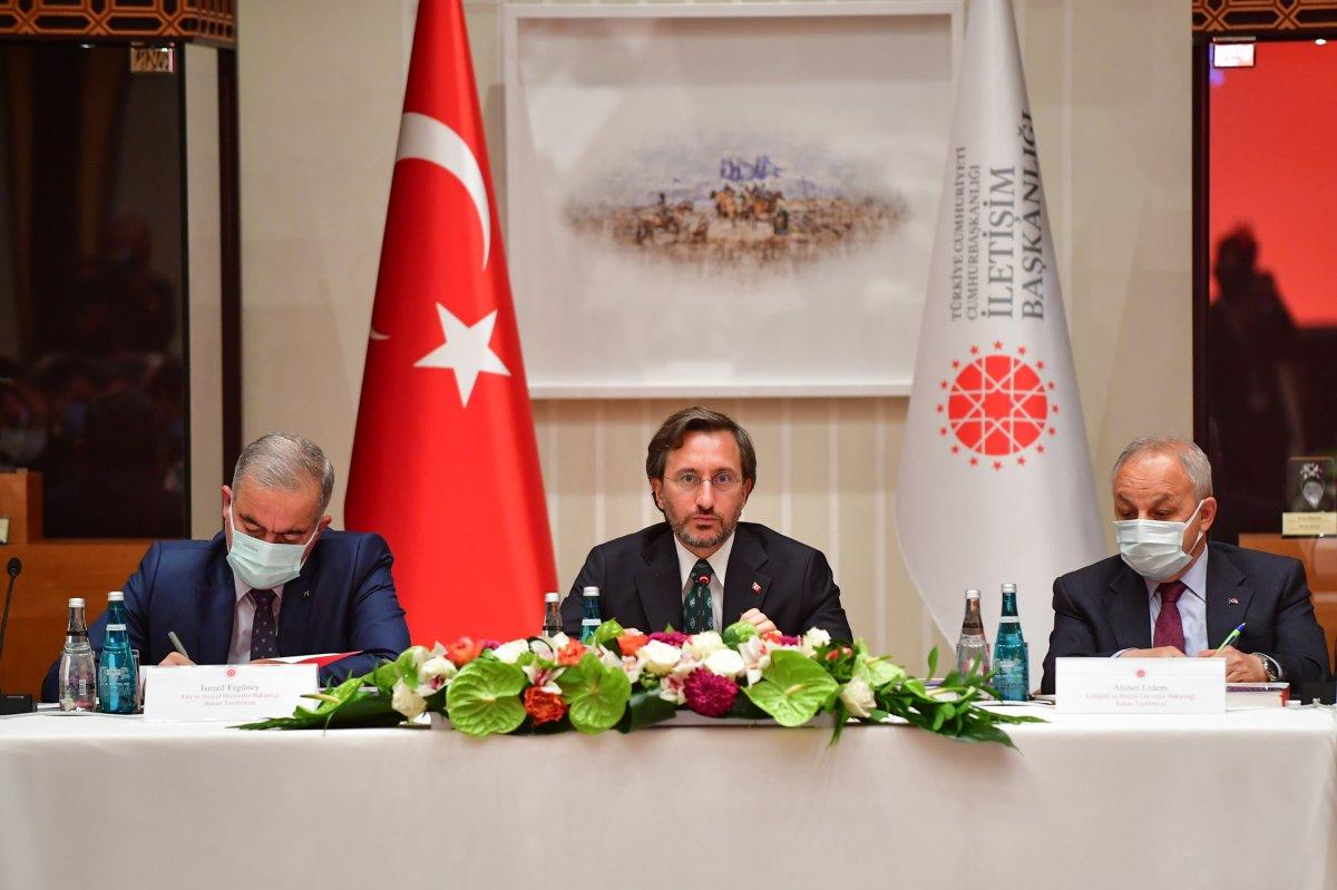 Fahrettin Altun: Türkiye nin gücünü, uluslararası itibarı artırmada kullanabiliriz #2