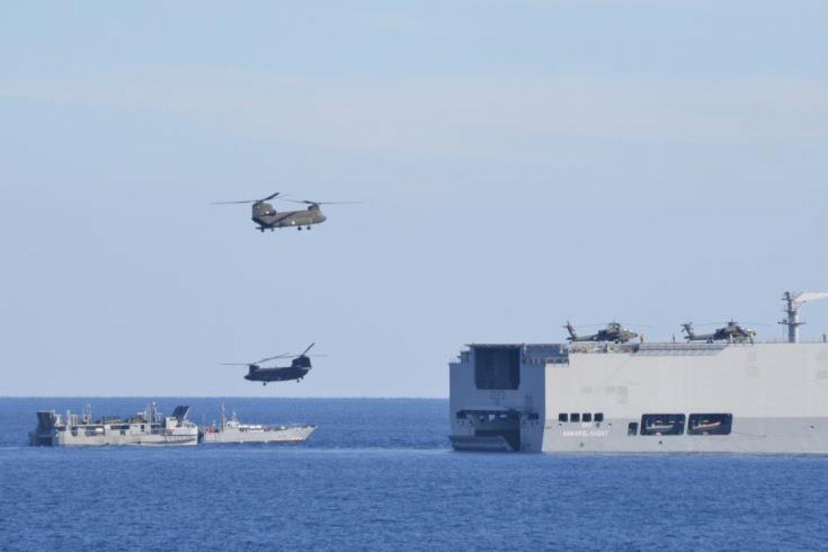 Mısır ve Güney Kıbrıs Rum Yönetimi Savunma Bakanları bir araya geldi #1
