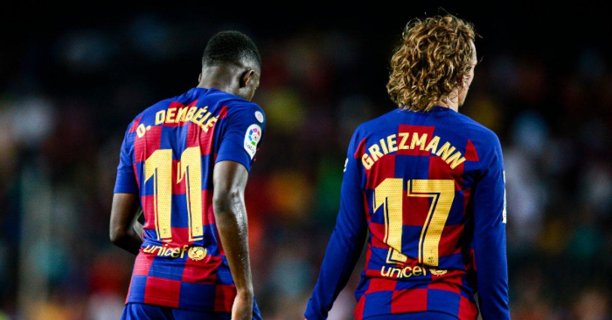 Fransız futbolcular Griezmann ve Dembele'nin ırkçılık skandalı #3