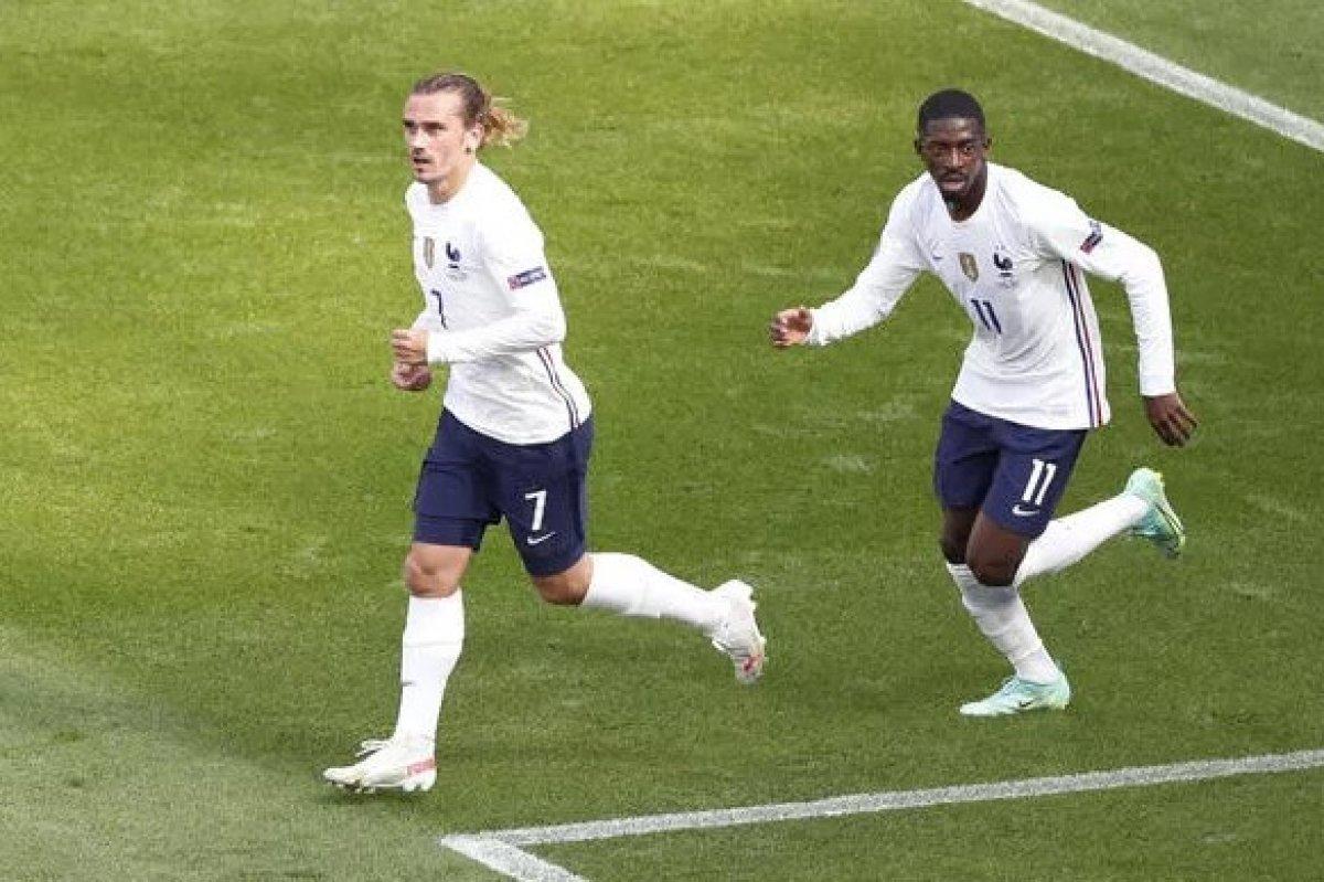 Fransız futbolcular Griezmann ve Dembele'nin ırkçılık skandalı #4