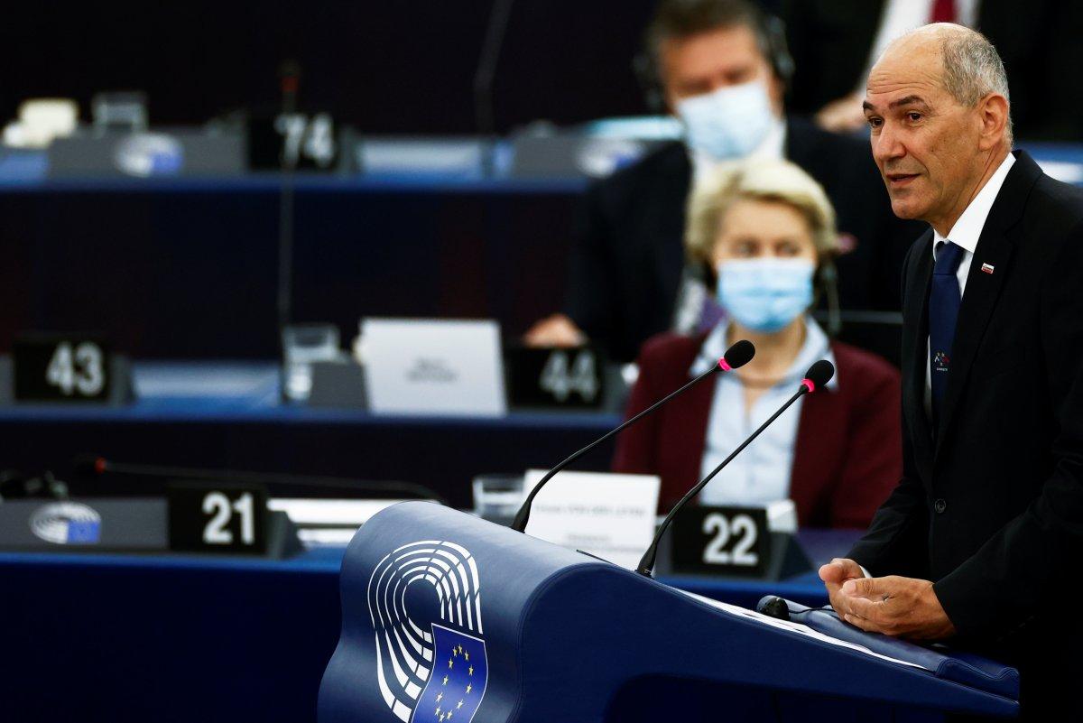 AB nin dönem başkanı Janez Jansa dan Türkiye mesajı #2