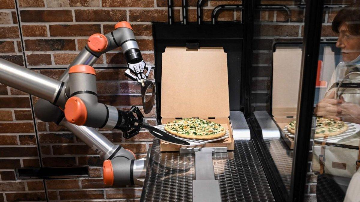 robot oizza
