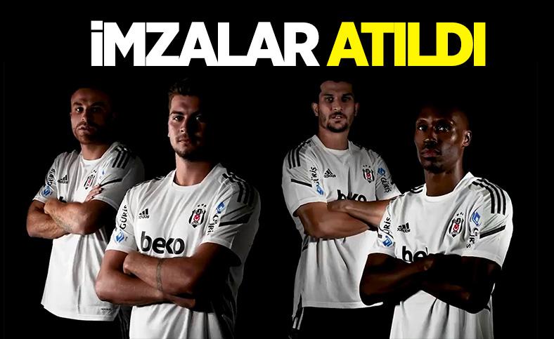 Beşiktaş'ta 4 oyuncuyla yeni sözleşme