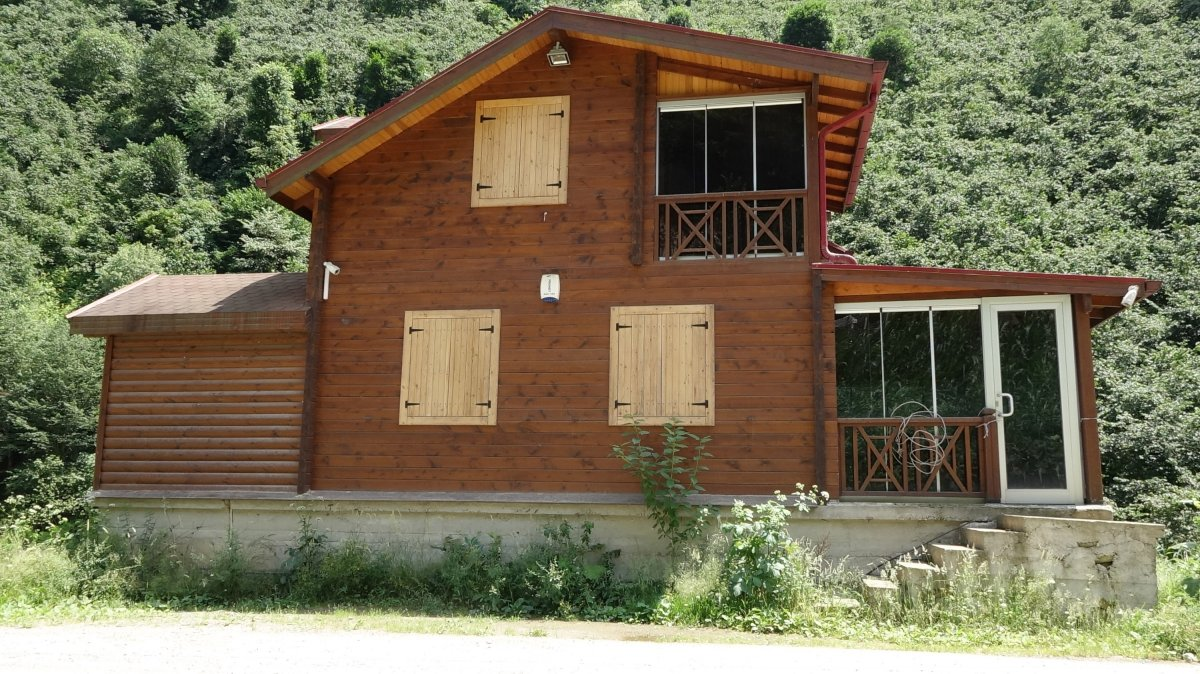 Tosuncuk lakaplı Mehmet Aydın'ın Giresun'daki kaçak villası #6