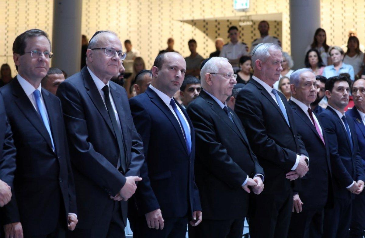 Netanyahu, görevini devreden eski İsrail Cumhurbaşkanı Rivlin'i alkışlamadı #1