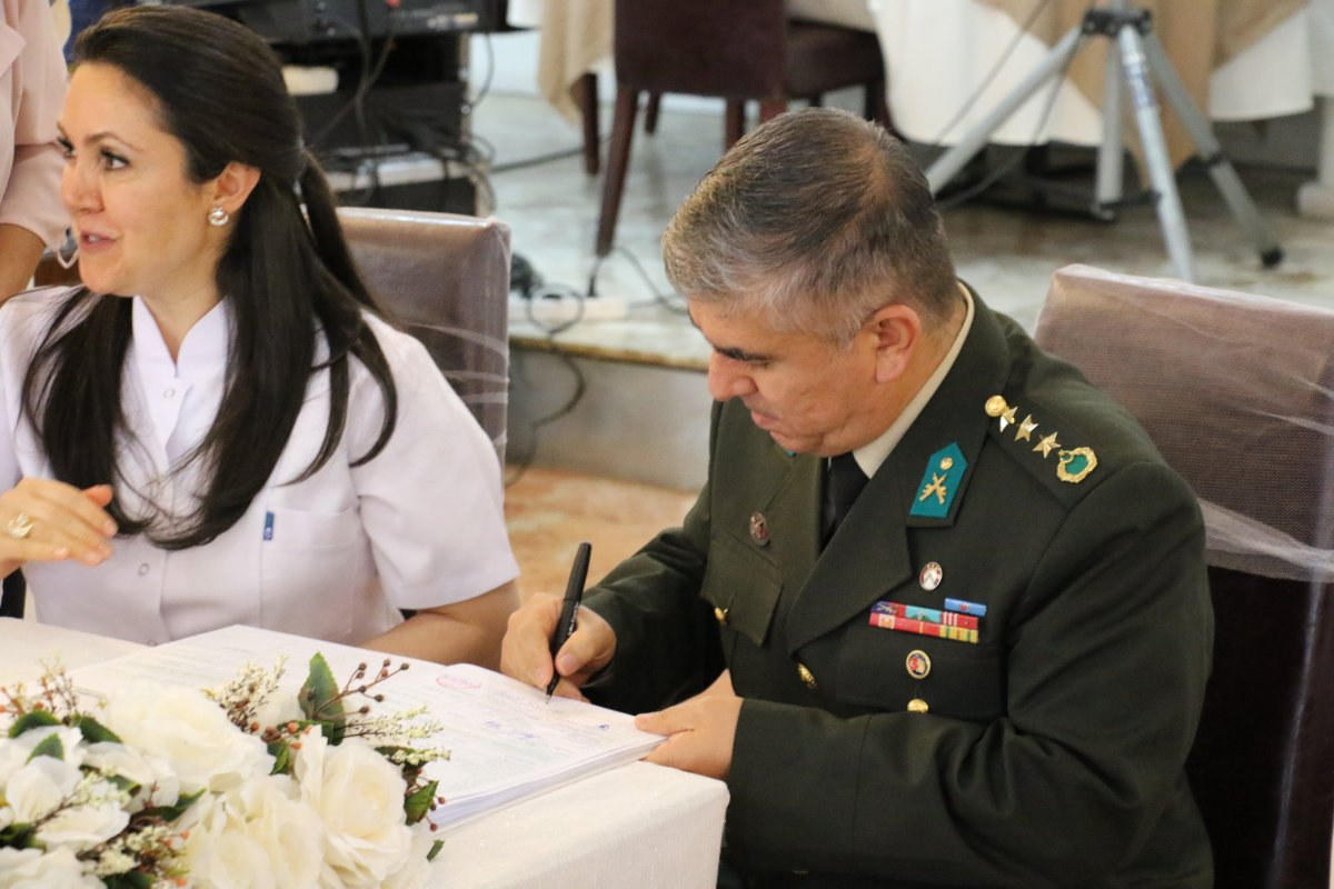 Pençe-Şimşek Harekatı gazisi, tedavi gördüğü hastanede evlendi  #2