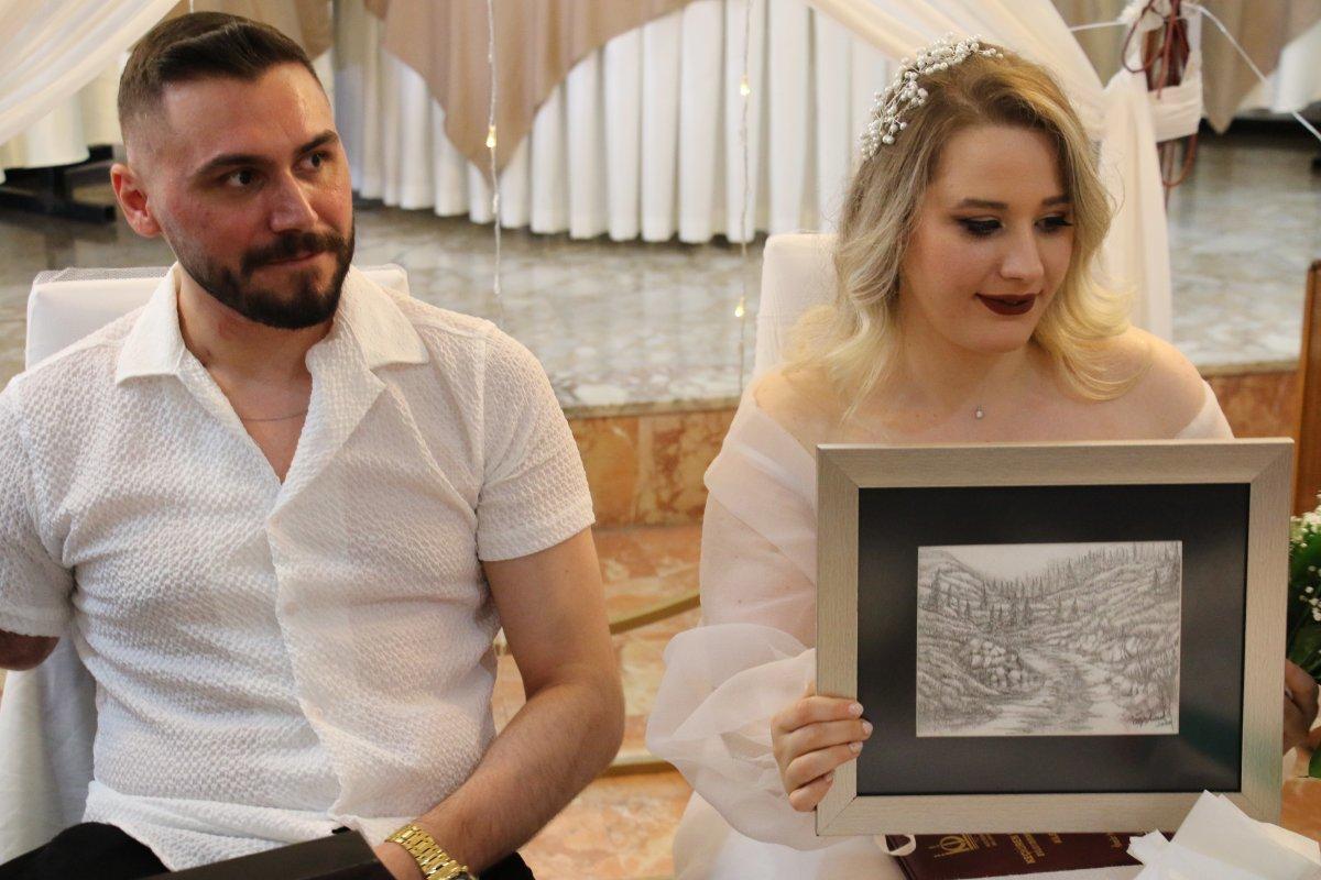 Pençe-Şimşek Harekatı gazisi, tedavi gördüğü hastanede evlendi  #6