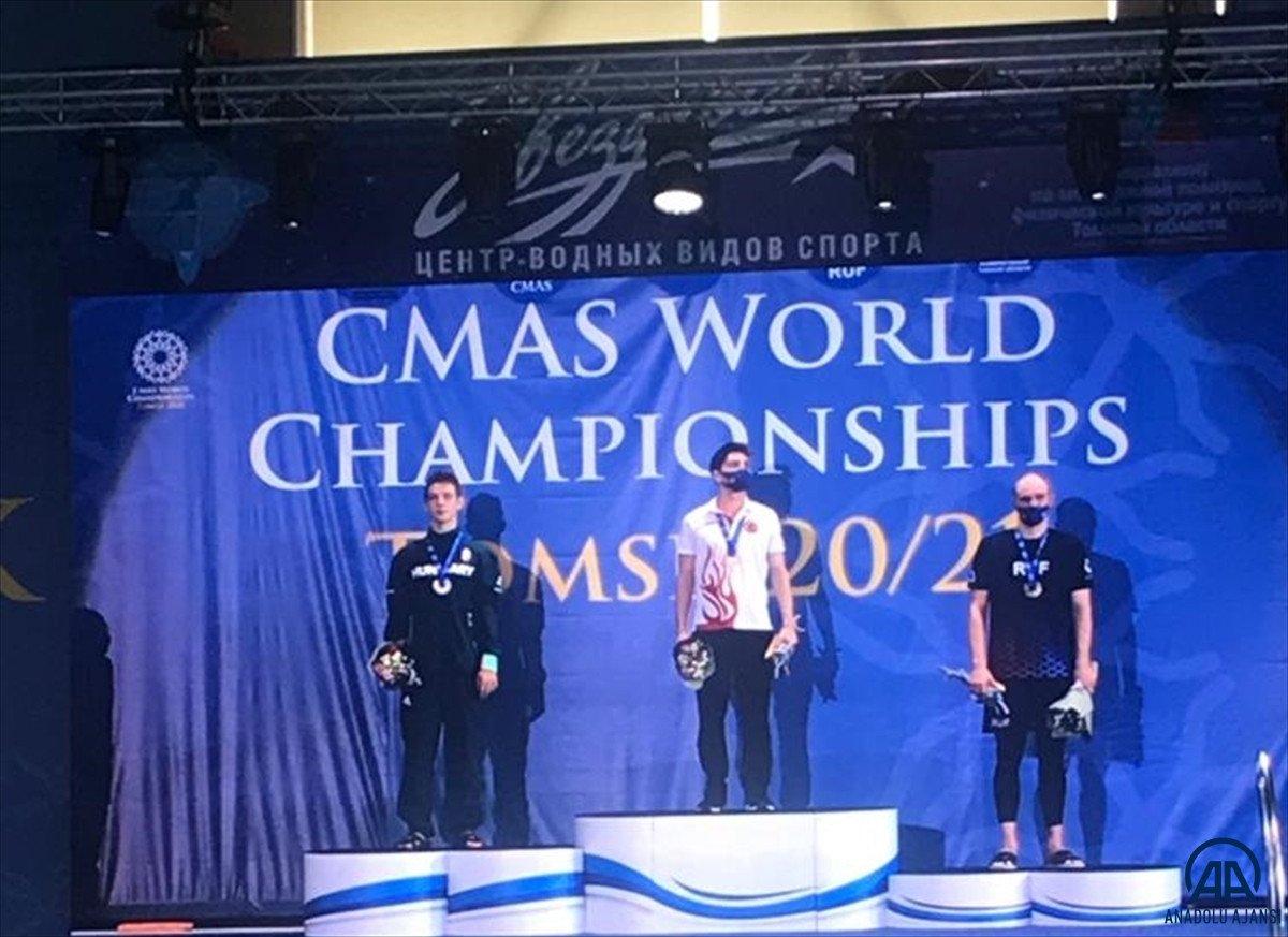 Milli yüzücü Derin Toparlak Rusya da Dünya Şampiyonu oldu #4