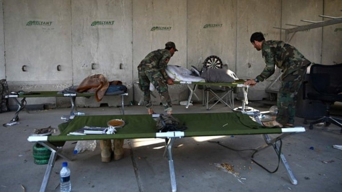 Afganistan da ABD nin ayrıldığı üs yağmalandı #10