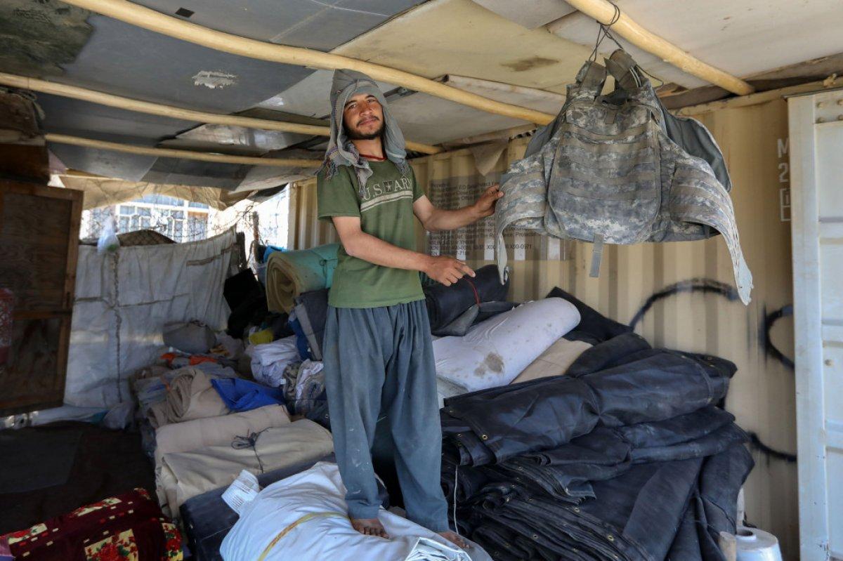 Afganistan da ABD nin ayrıldığı üs yağmalandı #9