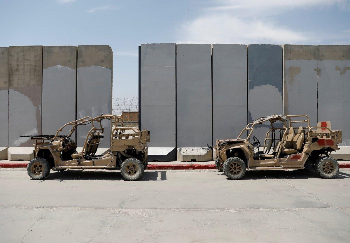 Afganistan da ABD nin ayrıldığı üs yağmalandı #2