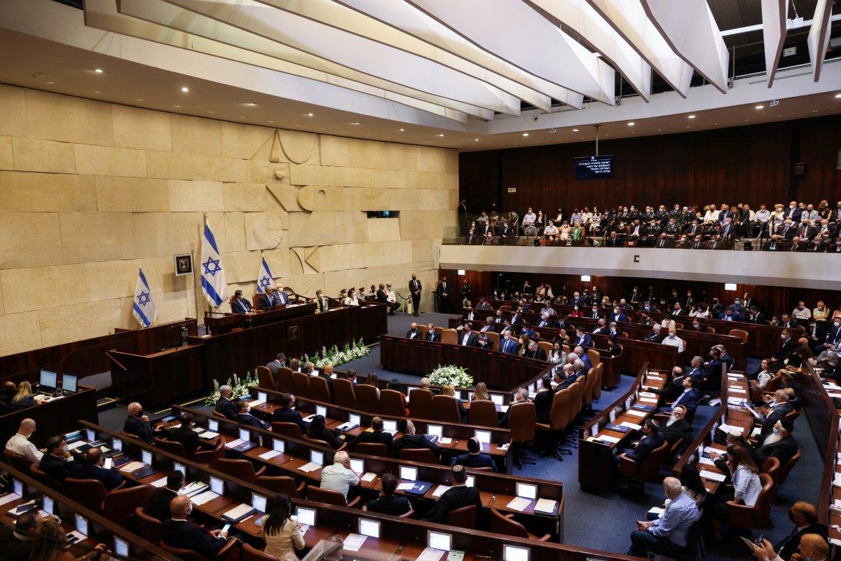 İsrail in yeni Cumhurbaşkanı Isaac Herzog, göreve başladı #3