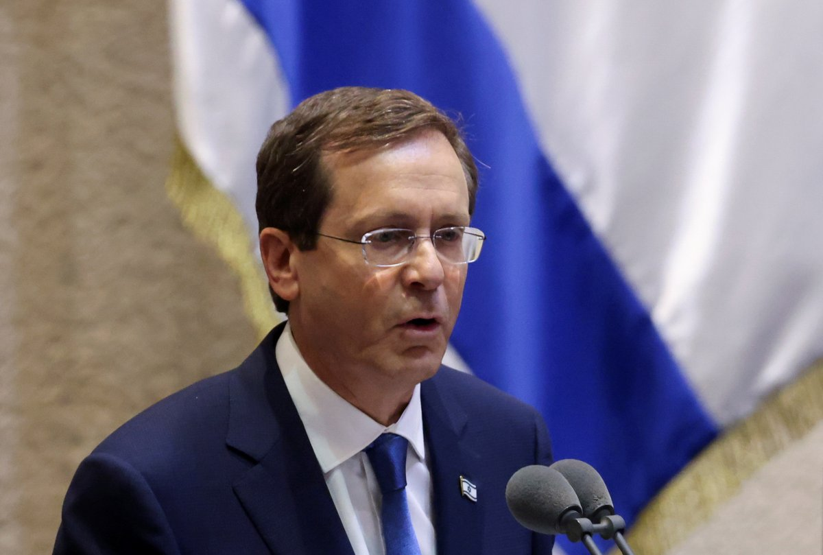 İsrail in yeni Cumhurbaşkanı Isaac Herzog, göreve başladı #1