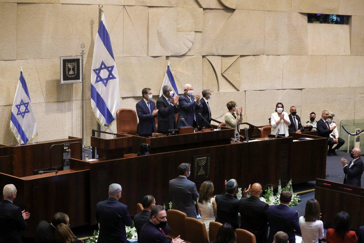 İsrail in yeni Cumhurbaşkanı Isaac Herzog, göreve başladı #2