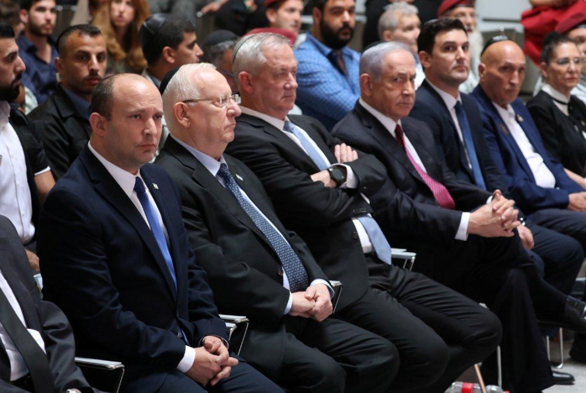 Netanyahu, görevini devreden eski İsrail Cumhurbaşkanı Rivlin'i alkışlamadı #2