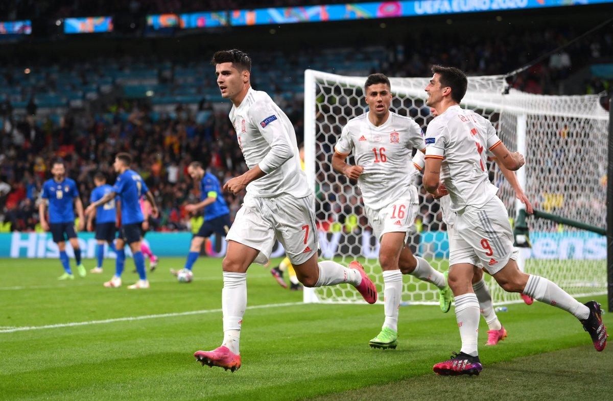 EURO 2020 de İspanya yı penaltılarda eleyen İtalya finalde #2