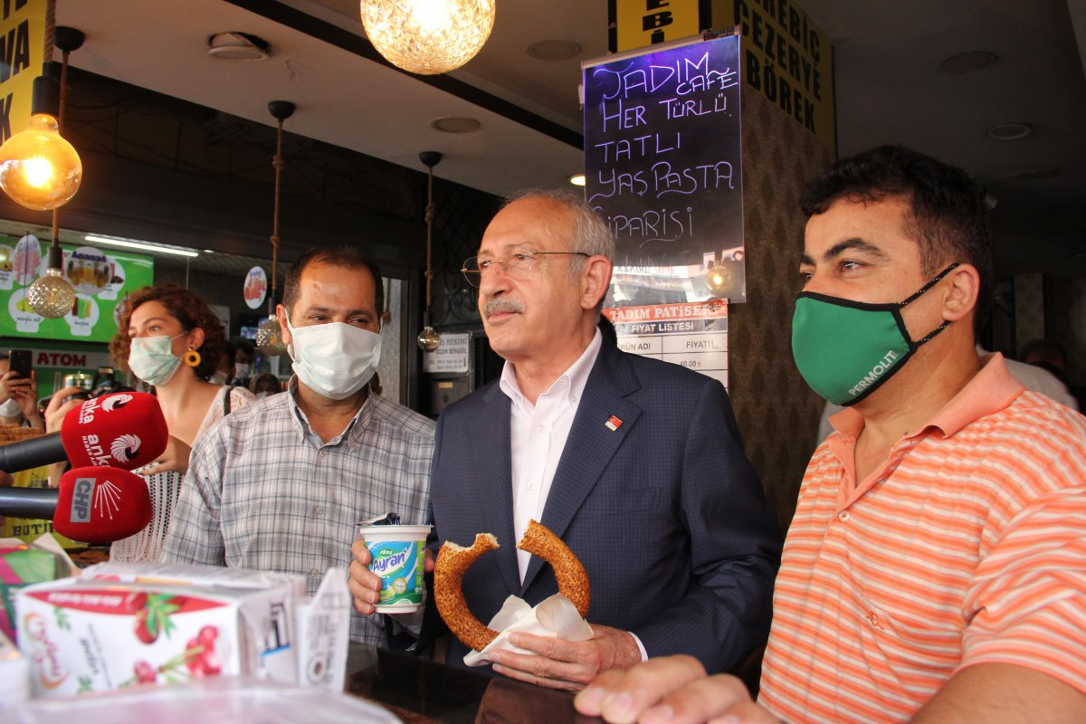 Kemal Kılıçdaroğlu, simit ikramına kendi esprisiyle yanıt verdi #2