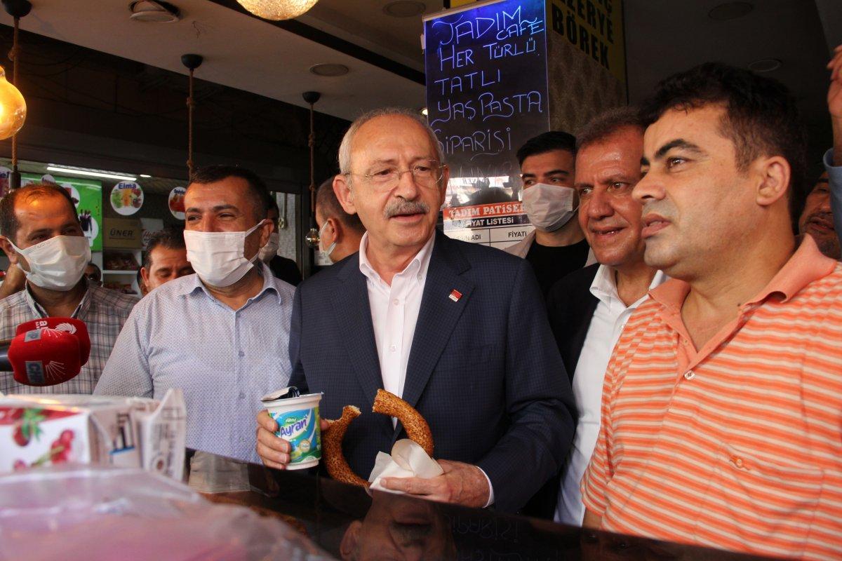 Kemal Kılıçdaroğlu, simit ikramına kendi esprisiyle yanıt verdi #3