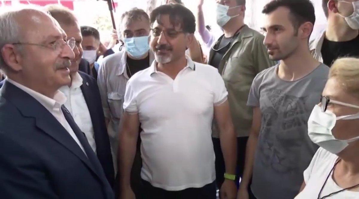 Kılıçdaroğlu ndan  İşte Cumhurbaşkanımız  diyen kadına cevap  #2