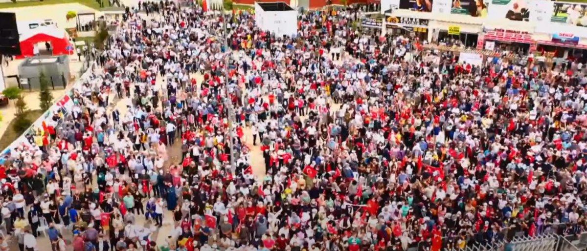 Cumhurbaşkanı Edoğan, TOKİ nin bir milyonuncu konut teslimi töreninde  #1