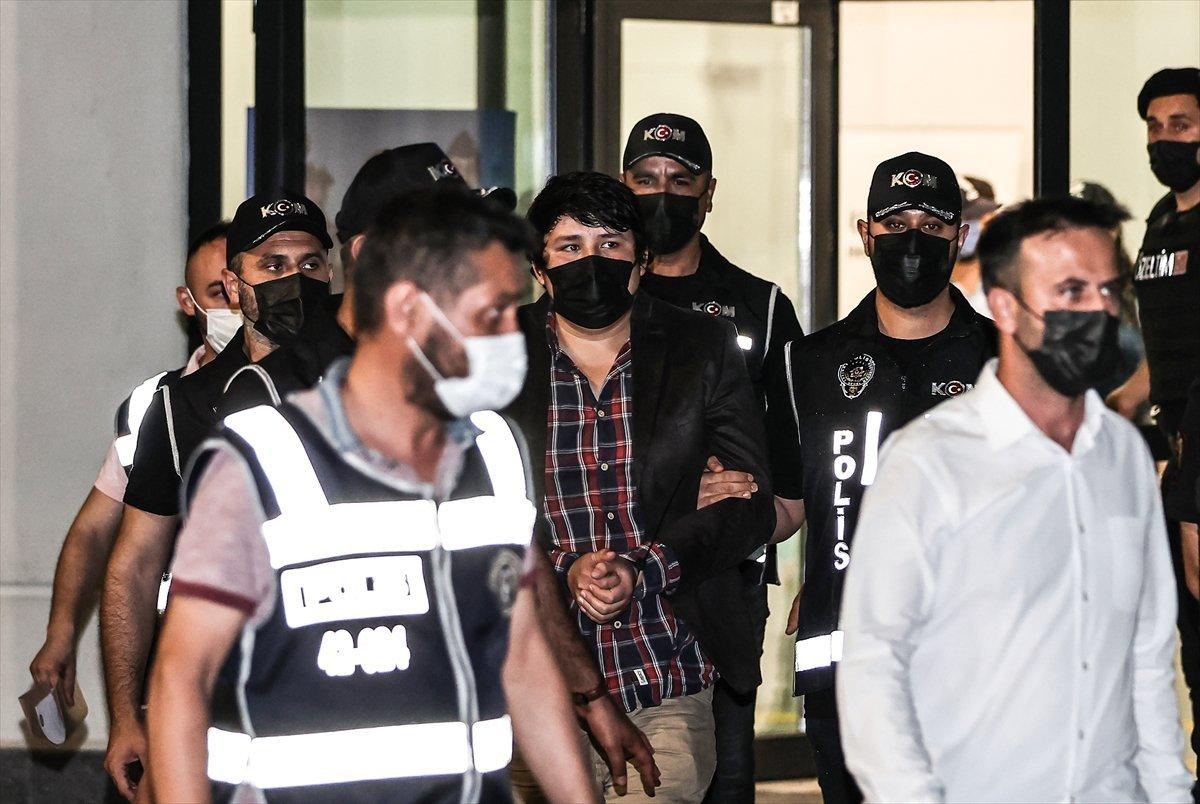 Tosuncuk lakaplı Mehmet Aydın ın ifade işlemleri tamamlandı #1