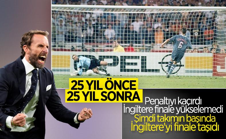 25 yıl önce penaltı kaçıran Southgate takımını finale çıkardı
