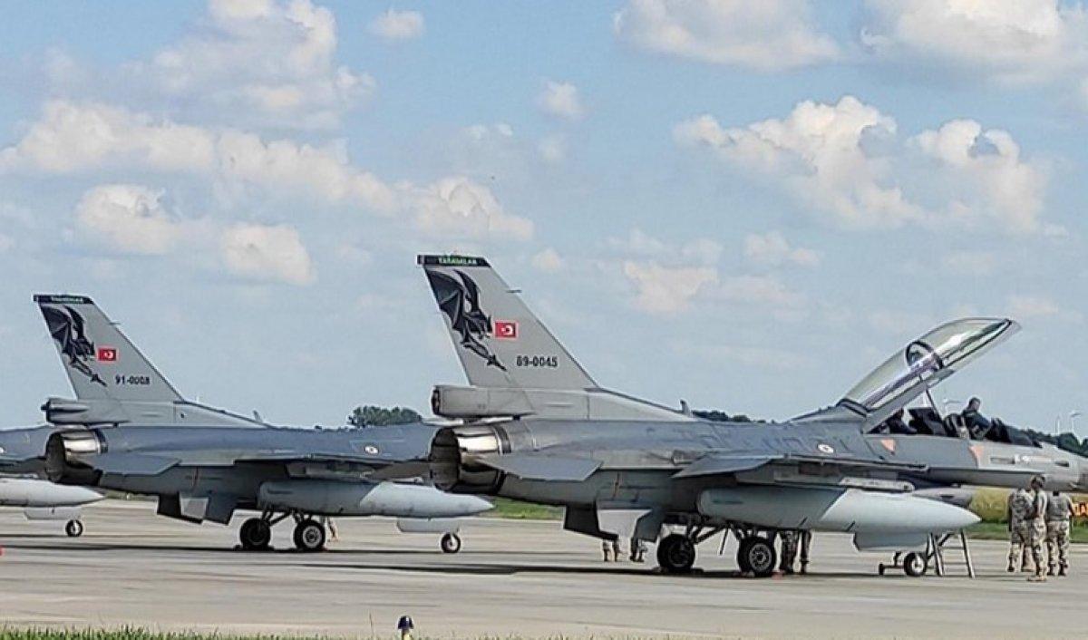 Türk ve ABD jetlerinden Polonya ve İzlanda da NATO devriyesi #2