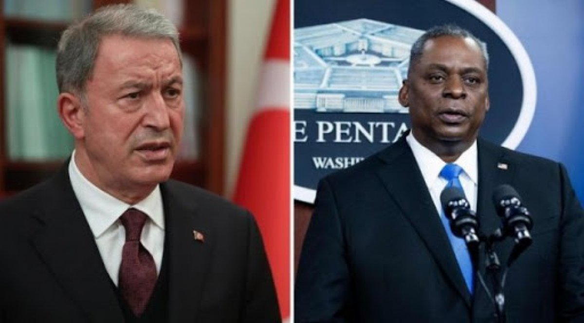Hulusi Akar, ABD Savunma Bakanı Auistin ile görüştü #1