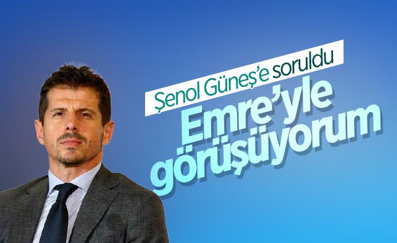 Şenol Güneş: Emre Belözoğlu ile görüşüyorum