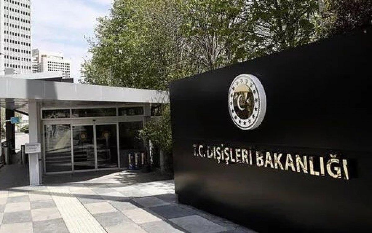 Dışişleri Bakanlığı ndan AP nin Türkiye kararına sert tepki #1