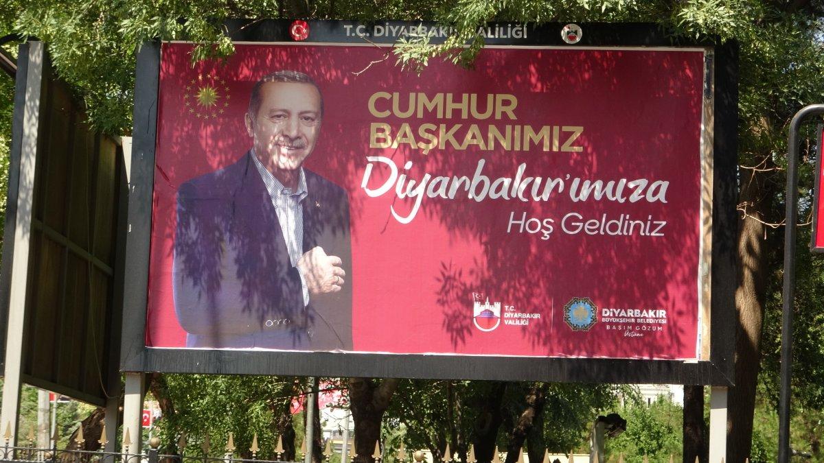 Diyarbakır Cumhurbaşkanı nı karşılamaya hazır #4