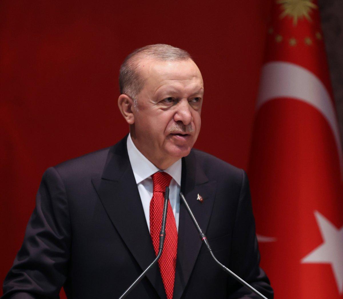 Cumhurbaşkanı Erdoğan ın AK Parti İl Başkanları Toplantısı konuşması #3