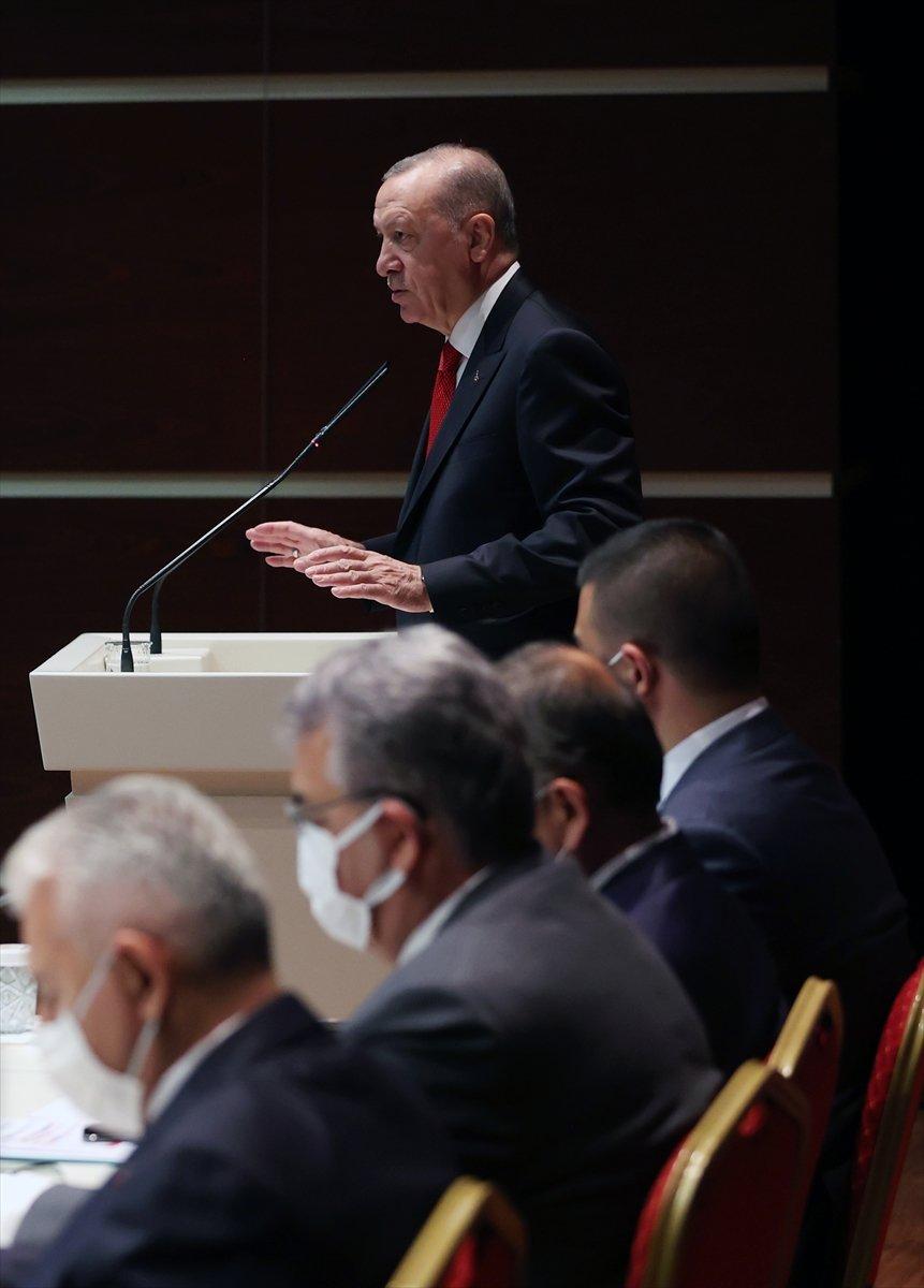 Cumhurbaşkanı Erdoğan ın AK Parti İl Başkanları Toplantısı konuşması #4