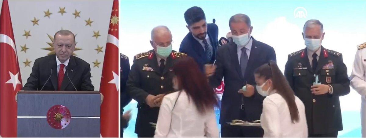 Cumhurbaşkanı Erdoğan, A400M uçakları bakım tesisleri açılışına katıldı #1