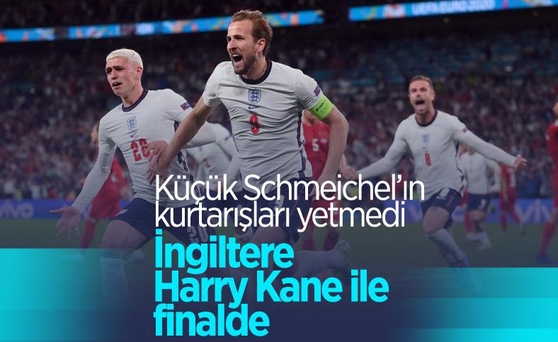 EURO 2020'de Danimarka'yı uzatmalarda yenen İngiltere finalde