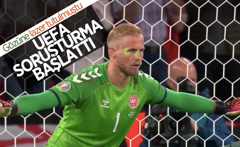 UEFA, Kasper'e tutulan lazer için soruşturma başlattı