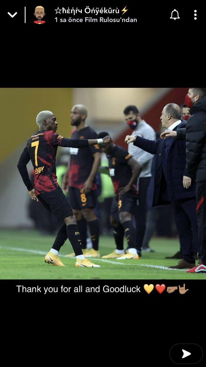 Onyekuru Galatasaray a veda etti #2