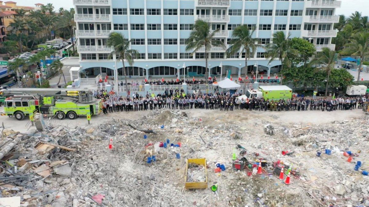 Miami de çöken 13 katlı binanın enkazında hayat ümidi kesildi #6