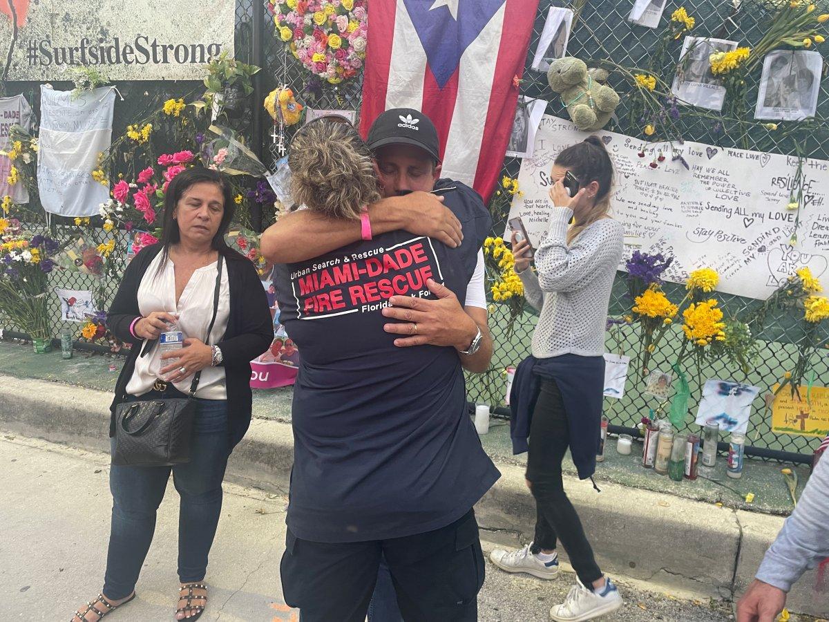 Miami de çöken 13 katlı binanın enkazında hayat ümidi kesildi #1