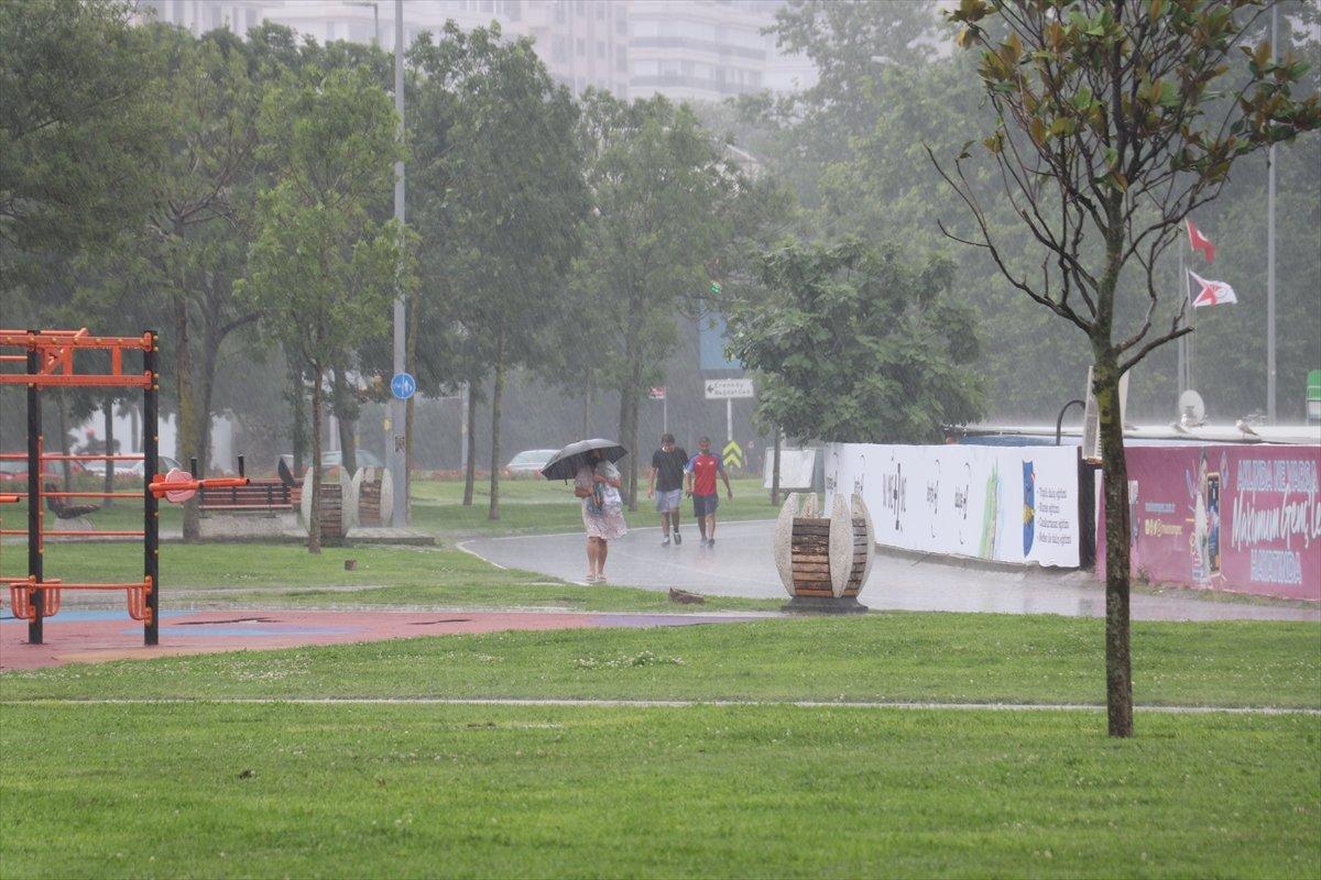 Meteoroloji den 10 il için yağış uyarısı #7
