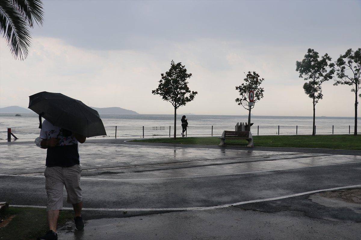 Meteoroloji den 10 il için yağış uyarısı #2