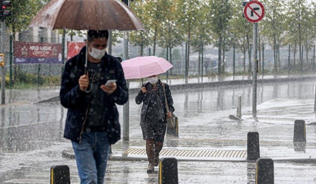 Marmara nın doğusu için kuvvetli yağış uyarısı #1