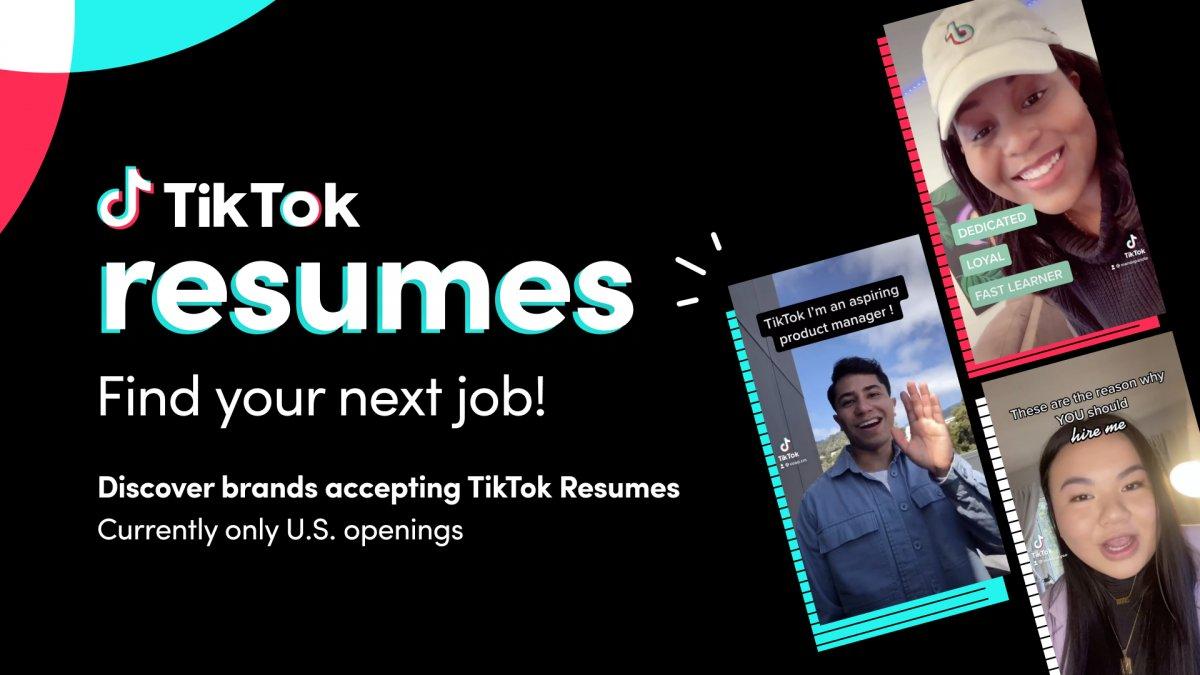 TikTok'tan iş arayan gençlere özel program #1