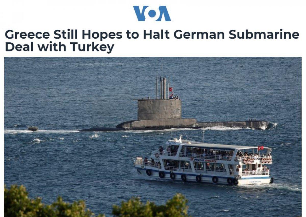 Yunanistan, Almanya nın Türkiye yle denizaltı anlaşmasını durdurmasını istiyor #2