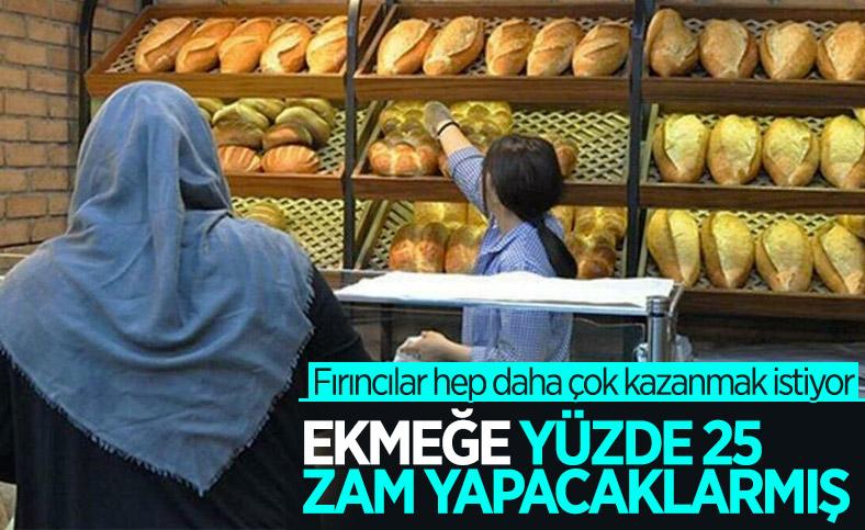 İstanbul'da fırıncılar ekmeğe yüzde 25 zam için hazırlanıyor